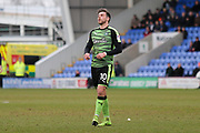 Graham Carey of Plymouth Argyle (10) during the EFL Sky Bet League 1 match between Shrewsbury Town and Plymouth Argyle at Greenhous Meadow, Shrewsbury, England on 10 February 2018. Picture by Mick Haynes.