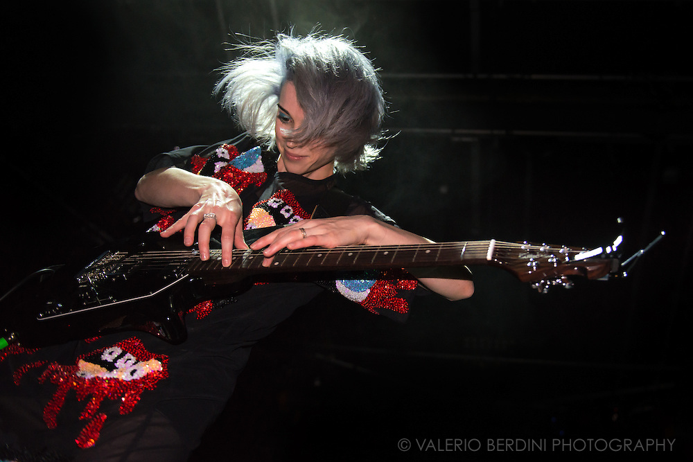 St. Vincent playing live at the Cambridge Junction on 19 of August 2014