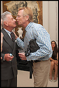NICKY HASLAM; DUNCAN FALLOWELL, Nicky Haslam hosts a party to launch a book by  Maureen Footer 'George Stacey and the Creation of American Chic' . With a foreword by Mario Buatta. Kensington. London. 11 June 2014