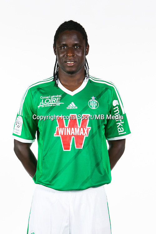 Moustapha BAYAL SALL - 06.10.2014 - Portrait Officielle de Saint Etienne - Ligue 1<br /> Photo : Icon Sport