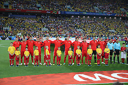 June 27, 2018 - Moscow, Russia - June 27, 2018, Russia, Moscow, FIFA World Cup 2018, First round, Group D, Third round. Football match Serbia - Brazil at the stadium of Spartak. Player of the national team (Credit Image: © Russian Look via ZUMA Wire)