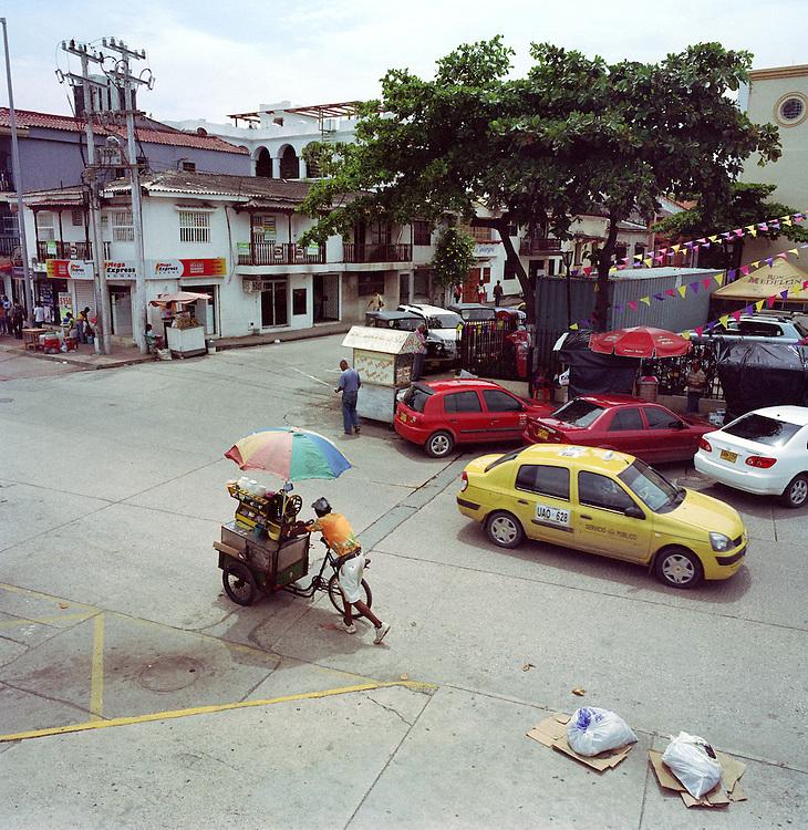 Columbia Cartagena. Street scene.