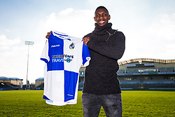 Bristol Rovers announce the signing of Bernard Mensah on a permanant cotract for an undisclosed fee - Rogan/JMP - 10/01/2018 - FOOTBALL - Memorial Stadium - Bristol, England - EFL Sky Bet League One.