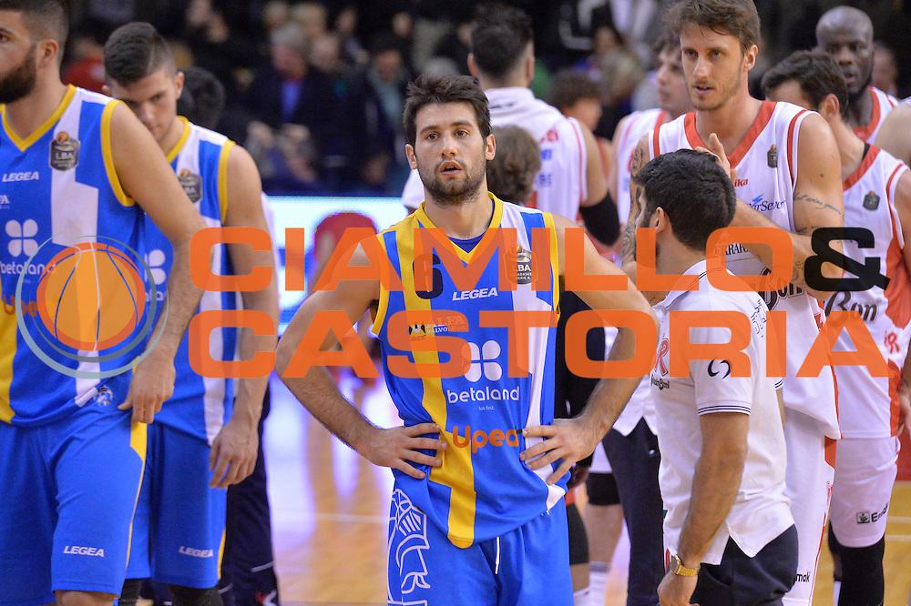 Bruno Fitipaldo<br /> Grissin Bon Pallacanestro Reggio Emilia - Betaland Capo d' Orlando<br /> Lega Basket Serie A 2016/2017<br /> Reggio Emilia, 05/12/2016<br /> Foto Ciamillo-Castoria