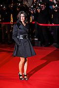 Jennifer  sur le tapie rouge des NRJ music awards a Cannes.Jennifer  attends the red carpert for the NRJ Musc Awards.