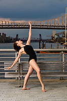 New York City Dance Photography- Dance As Art Gantry State Park with dancer Manon Hallay