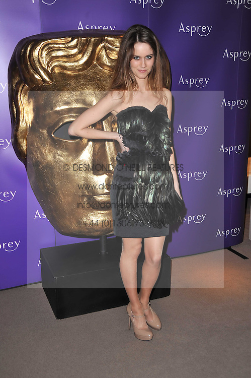 JADE WILLIAMS - Sunday Girl at the BAFTA Nominees party 2011 held at Asprey, 167 New Bond Street, London on 12th February 2011.