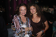 Diane von Furstenburg and Ginevra Elkann, party given by Daphne Guinness for Christian Louboutin  after the opening of his new shopt.  Baglione Hotel. 16 March 2004.  ONE TIME USE ONLY - DO NOT ARCHIVE  © Copyright Photograph by Dafydd Jones 66 Stockwell Park Rd. London SW9 0DA Tel 020 7733 0108 www.dafjones.com