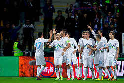 Team Slovenia during the FIFA World Cup 2014 Group E qualification match between Slovenia and Norway on October 11, 2013 in Stadium Ljudski vrt, Maribor, Slovenia. (Photo by Urban Urbanc / Sportida)