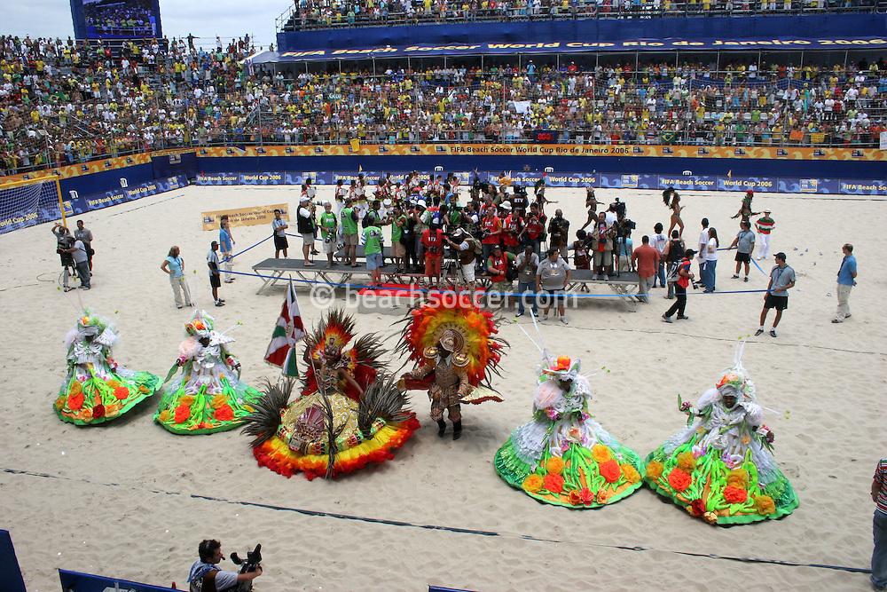 Footbal-FIFA Beach Soccer World Cup 2006 - Final- award cerimony   -Rio de Janeiro- Brazil - 12/11/2006.<br />Mandatory Credit: FIFA/Ricardo Ayres