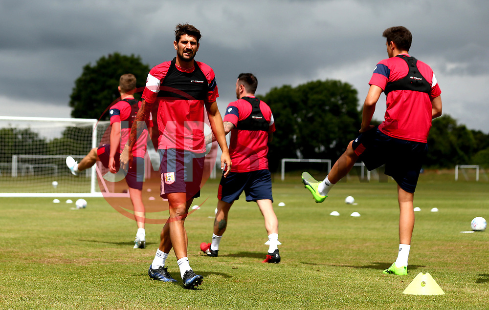 Eros Pisano looks on as Bristol City return to training ahead of their 2017/18 Sky Bet Championship campaign - Mandatory by-line: Robbie Stephenson/JMP - 30/06/2017 - FOOTBALL - Failand Training Ground - Bristol, United Kingdom - Bristol City Pre Season Training - Sky Bet Championship