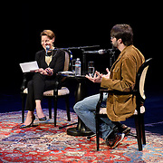 NHPR's Virginia Prescott interviews Hoe Hill at The Music Hall, May 16, 2016