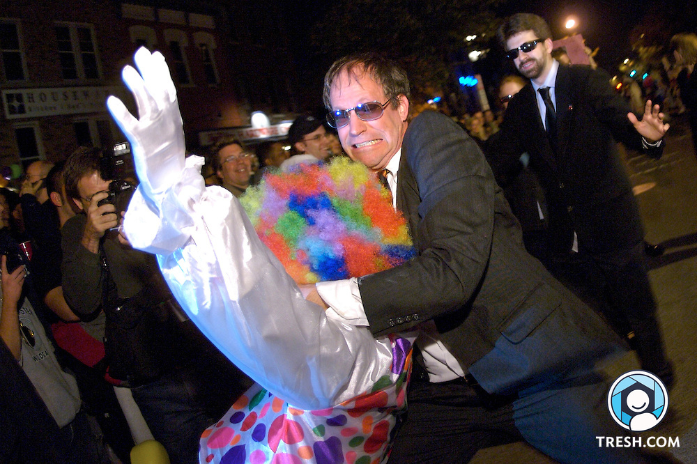 Images from the 21st Annual High Heel Race in Washington, D.C., held Tuesday, October 30, 2007.
