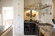The kitchen at Will Gissane's Herefordshire home<br /> CREDIT: Vanessa Berberian for The Wall Street Journal<br /> HOBBY-Gissane/UK