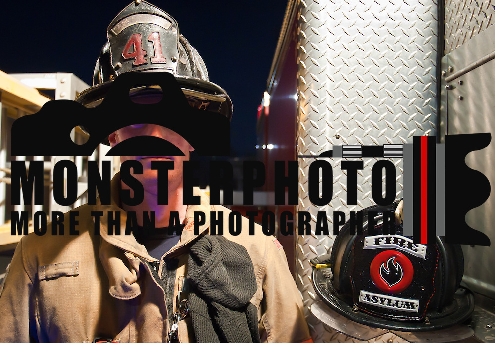Portrait of one of the worlds bravest Camden-Wyoming Fire fighter Ryan Contino Wednesday, July 6, 2011, in Camden-Wyoming Delaware.