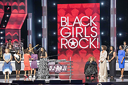 August 6, 2017 - New Jersey, U.S - All of the honorees on stage at the 2017 Black Girls Rock awards show TARAJI P. HENSON. Black Girls Rock 2017 was held at the New Jersey Performing Arts Center in Newark New Jersey. (Credit Image: © Ricky Fitchett via ZUMA Wire)