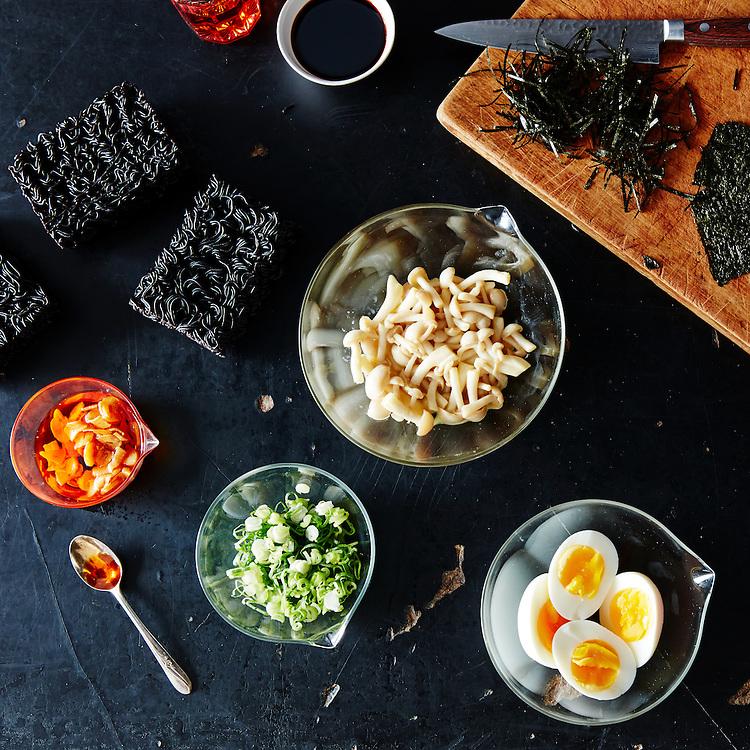 black ramen asian ingredients