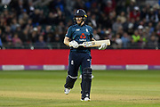 Eoin Morgan of England during the third Royal London One Day International match between England and Pakistan at the Bristol County Ground, Bristol, United Kingdom on 14 May 2019.