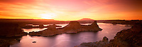 Richard Furhoff_999001_Lake Powell_1.tif.Sunrise Over Lake Powell, Glen Canyon National Recreation Area, Utah, USA, .