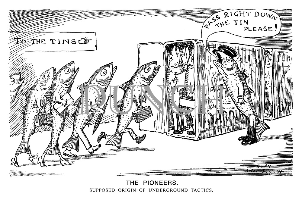 The Pioneers. Supposed origin of underground tactics.