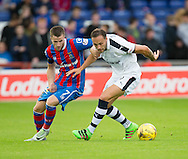 Dundee&rsquo;s Tom Hateley and Inverness&rsquo; Liam Polworth - Inverness Caledonian Thistle v Dundee in the Ladbrokes Scottish Premiership at Caledonian Stadium, Inverness. Photo: David Young<br /> <br />  - &copy; David Young - www.davidyoungphoto.co.uk - email: davidyoungphoto@gmail.com