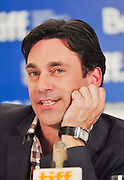 10.SEPT.2010. TORONTO<br /> <br /> JOHN HAMM ATTENDS THE TOWN PRESS CONFRENCE AT THE 35TH TORONTO FILM FESTIVAL IN TORONTO.<br /> <br /> BYLINE: EDBIMAGEARCHIVE.COM<br /> <br /> *THIS IMAGE IS STRICTLY FOR UK NEWSPAPERS AND MAGAZINES ONLY*<br /> *FOR WORLD WIDE SALES AND WEB USE PLEASE CONTACT EDBIMAGEARCHIVE - 0208 954 5968*