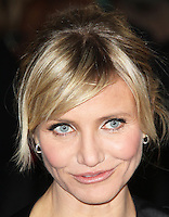 LONDON - NOVEMBER 07: Cameron Diaz attended the World Film Premiere of 'Gambit' at the Empire Cinema, Leicester Square, London, UK. November 07, 2012. (photo by Richard Goldschmidt)