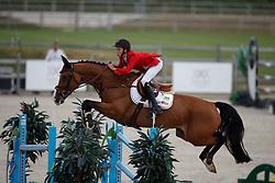 Spits Thibault, BEL, Jacobien Dwerse Hagen<br /> Children European Championships Jumping <br /> Samorin 2017© Hippo Foto - Dirk Caremans<br /> 11/08/2017