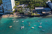 Outrigger Canoe Club, Waikiki, Honolulu, Oahu, Hawaii