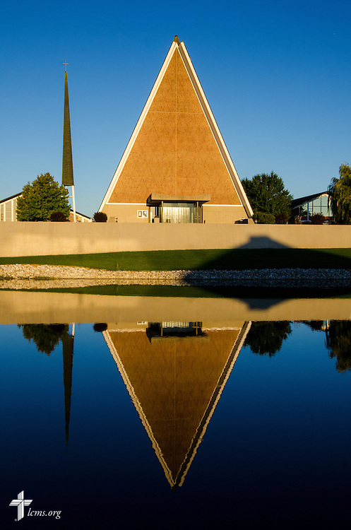 Kramer Chapel on the campus of Concordia Theological Seminary - Fort Wayne, Ind. designed by Swedish Architect Eero Saarinen.