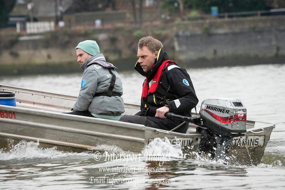 London. UNITED KINGDOM.   Tideway Week. 162nd BNY Mellon Boat Race  and The 71st Newton Women's Boat Race on the Championship Course, River Thames, Putney/Mortlake.  Wednesday  23/03/2016    [Mandatory Credit. Intersport Images]<br /> <br /> Cambridge University Boat Club {CUBC}<br /> <br /> Cambridge, Bow: Felix Newman &ndash; 83.2kg, 2: Ali Abbasi &ndash; 88.4kg, 3: Charles Fisher &ndash; 91.8kg, 4: Clemens Auersperg &ndash; 90.4kg, 5: Luke Juckett &ndash; 82.0kg, 6: Henry Hoffstot &ndash;  92.6kg, 7: Ben Ruble &ndash; 83.4kg, Stroke: Lance Tredell &ndash; 94.2kg, Cox: Ian Middleton &ndash; 54.0kg