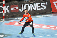 Kevin Mesnard - 15.03.2015 - Montpellier / Kielce - 1/8Finale aller Ligue des Champions<br /> Photo : Andre Delon / Icon Sport