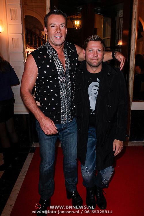 NLD/Amsterdam/20121112 - Beau Monde Awards 2012, Gerard Joling en Dennis van der Geest
