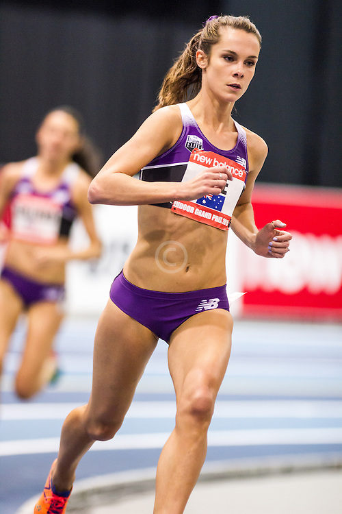 New Balance Indoor Grand Prix Track & FIeld:   Women's 2000 meters, Heidi (Gregson) See, Australia