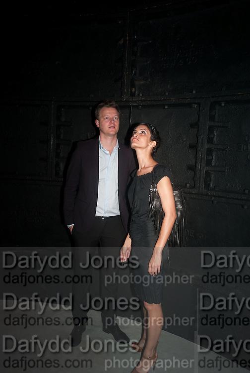 PAUL VANTIEGHEN; RAHA TALEBI, The Tanks at Tate Modern, opening. Tate Modern, Bankside, London, 16 July 2012