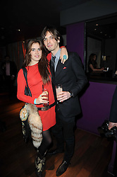 JESSICA NAYLOR-LEYLAND and LARS WEIDEMANN at the Tatler Little Black Book Party held at Chinawhite, 4 Winsley Street, London on 20th November 2009.