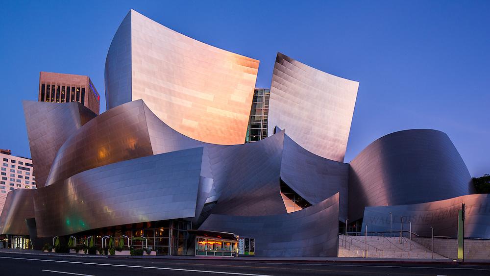 Walt Disney Concert Hall. Los Angeles, California | Architect: Frank Gehry