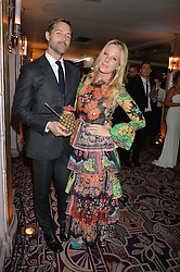 PATRICK GRANT and ALICE NAYLOR-LEYLAND at the WGSN Global Fashion Awards 2015 held at The Park Lane Hotel, Piccadilly, London on 14th May 2015.