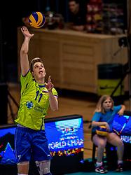 20-05-2018 NED: Netherlands - Slovenia, Doetinchem<br /> First match Golden European League / Saso Stalekar #11 of Slovenia