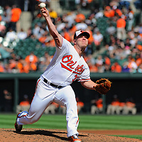 25 September 2016:  Baltimore Orioles starting pitcher Dylan Bundy (37) pitches against the Arizona Diamondbacks at Orioles Park at Camden Yards in Baltimore, MD. in an interleague game where the Baltimore Orioles defeated the Arizona Diamondbacks, 2-1 to sweep the series.  (Photo by Mark Goldman/Icon Sportswire)