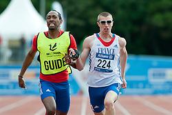 ADOLPH Timothee, Guide FELIP Cedric, 2014 IPC European Athletics Championships, Swansea, Wales, United Kingdom