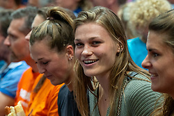 10-08-2019 NED: FIVB Tokyo Volleyball Qualification 2019 / Belgium - Netherlands, Rotterdam<br /> Third match pool B in hall Ahoy between Belgium vs. Netherlands (0-3) for one Olympic ticket / Nika Daalderop
