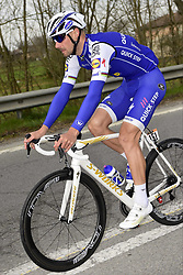 March 18, 2017 - San Remo, Italie - SANREMO, ITALY - MARCH 18 : BOONEN Tom (BEL) Rider of Quick-Step Floors Cycling team in action during the UCI WorldTour 108th Milan - Sanremo cycling race with start in Milan and finish at the Via Roma in Sanremo on March 18, 2017 in Sanremo, Italy, 18/03/2017  (Credit Image: © Panoramic via ZUMA Press)
