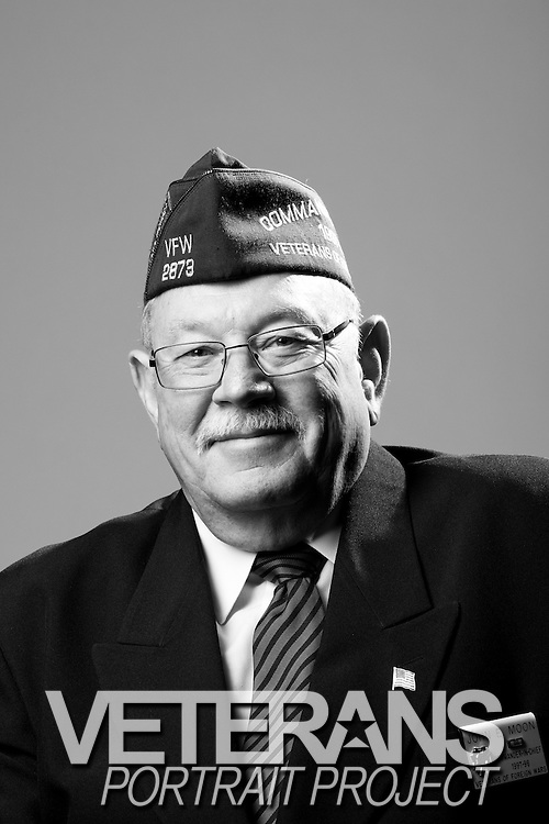 John E. Moon<br /> Marine Corps<br /> E-4<br /> Personnel Administration<br /> July 25, 1968 - July 24, 1970<br /> Vietnam<br /> <br /> Veterans Portrait Project<br /> St. Louis, MO
