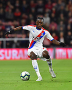 Aaron Wan-Bissaka (29) of Crystal Palace during the Premier League match between Bournemouth and Crystal Palace at the Vitality Stadium, Bournemouth, England on 1 October 2018.