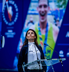 02-11-2018 USA: NYC Marathon We Run 2 Change Diabetes day 1, New York<br /> The day for the opening ceremony / Jill Kaplan, CEO United Airlines