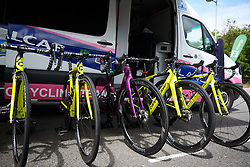 Valcar Cylance at Stage 2 of 2019 OVO Women's Tour, a 62.5 km road race starting and finishing in the Kent Cyclopark in Gravesend, United Kingdom on June 11, 2019. Photo by Sean Robinson/velofocus.com