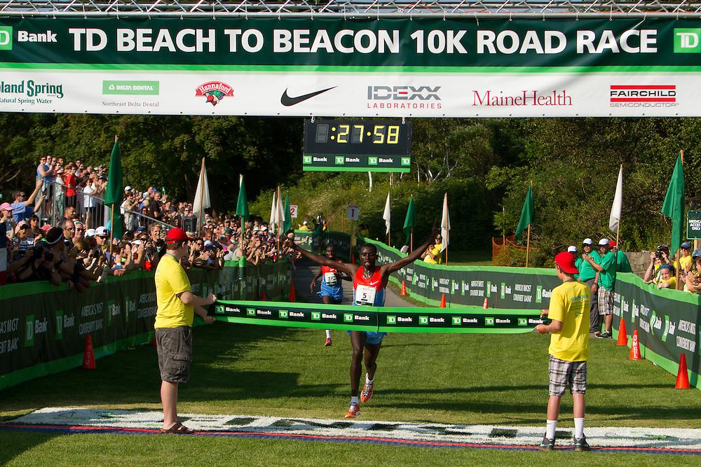 Beach to Beacon 10K , Stanley Biwott