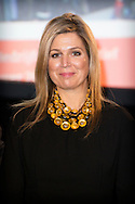 The Hague, 23-11-2015<br /> <br />  Queen Maxima during the launch of &lsquo;&rsquo;The State of the MKB&rsquo;&rsquo; at the Malietoren in The Hague.<br /> With this new and independent platform, the government, industry and research institutes wants to improve the available knowledge of the MKB in the Netherlands.<br /> The Queen is member of the Nederlands Comit&eacute; voor Ondernemerschap en Financiering.<br /> <br /> <br /> Royalportraits Europe-Bernard Ruebsamen