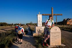 11-06-2017 NED: We hike to change diabetes day 2, Rabanal del Camino<br /> De eerste dag van Astorga naar Rabanal del Camino. Een tocht van 21 km door vlak landschap maar in een hitte van 32 graden.